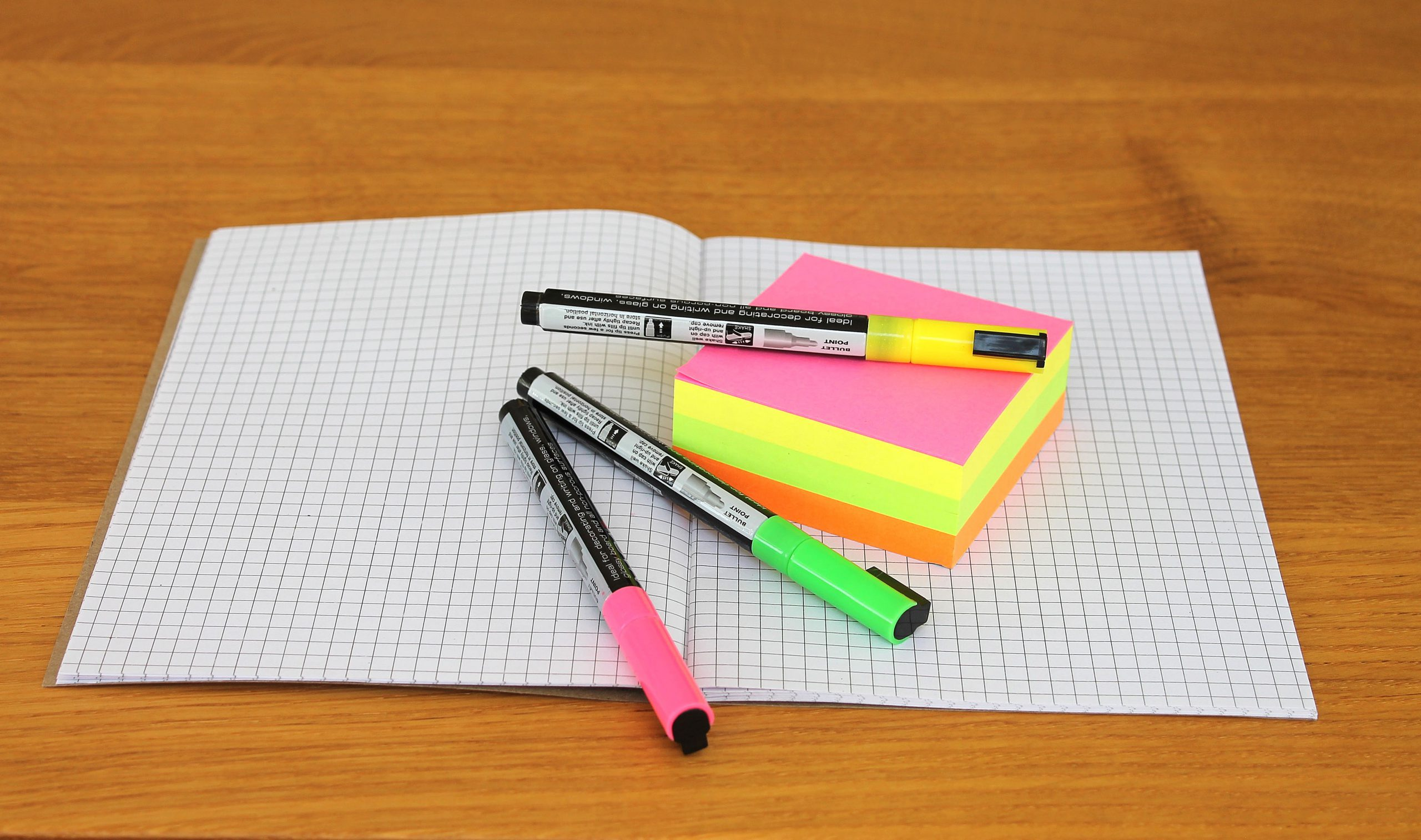 Office things on a school notebook image in Computer and Communication category at pixy.org